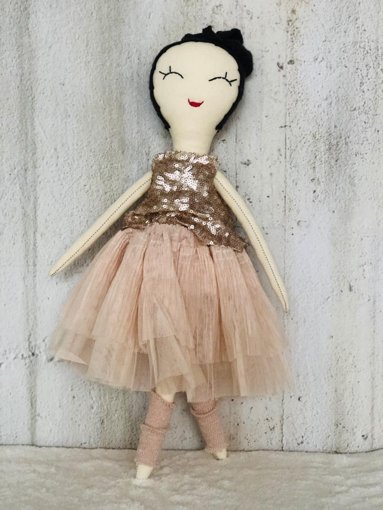 when is now - Dolls handmade by Barbara Langl