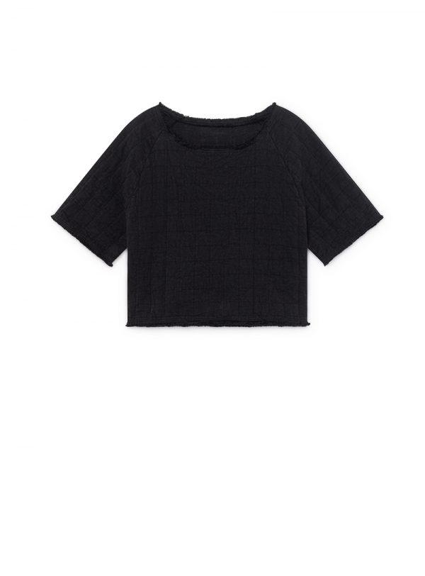 Menka Crop Top black