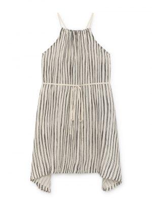 Bamboo Striped Apron Dress