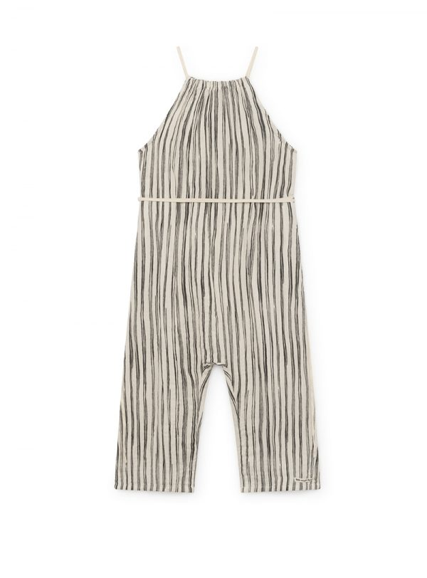 Bamboo Striped JumpSuit