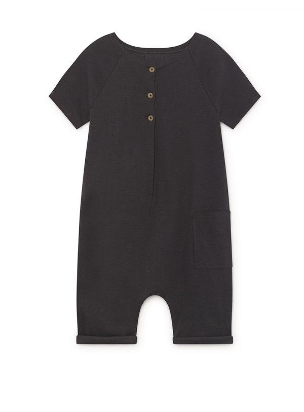 ZEN Short-Sleeved JumpSuit, slate