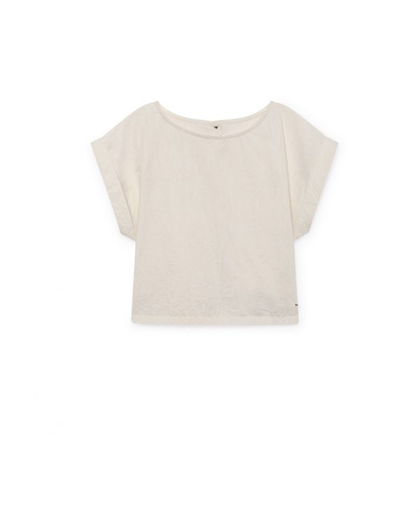 Washi Top front off-white