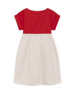 Origami T-Shirt Dress scarlet