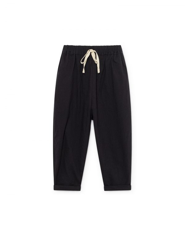 Washi pants black Woman