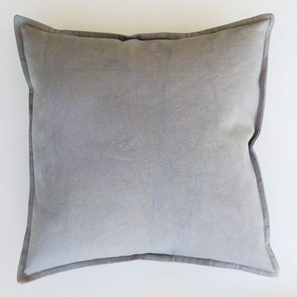 Dekokissen SMOOTH grey blue