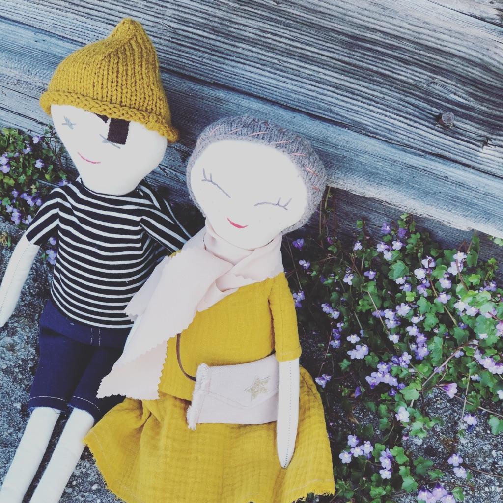 whenisnow - Arantza mit Lieblingspuppe